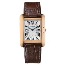 Cartier Tank Anglaise Automatic Mens Watch Ref W5310042