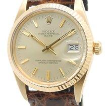 Rolex Date Ref. 15038 Yellow Gold Oro Giallo Rolex Box