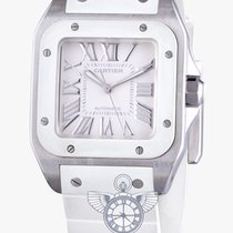 Cartier Santos 100 Automatic - White Rubber