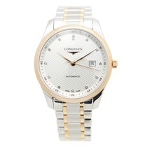 Longines Master Gold-plated Stainless Steel Silver Automatic...