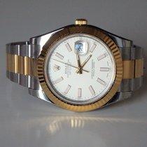 Rolex Datejust II Ivory 116333 - 2016