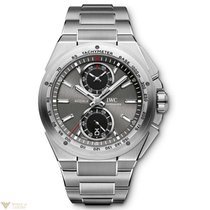 IWC Ingenieur Chronograph Racer Adroise Dial Stainless Steel...