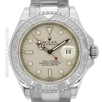 Rolex stainless steel and platinum Gent's Yachtmaster