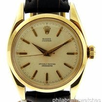 Rolex Vintage Oyster 14k Yellow Gold Manual