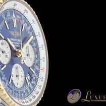 Breitling Navitimer Blau Gold/Edelstahl | 42 mm
