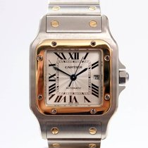 Cartier Santos Galbée Gold/Steel