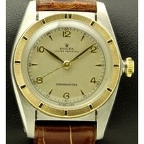 Rolex | Bubble Back Ref.5050 Steel And Gold, Made In 1950