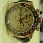 Rolex DAYTONA PINK GOLD BLACK CERAMIC BEZEL 116515