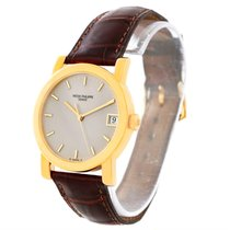 Patek Philippe Calatrava 18k Yellow Gold Automatic Watch 5012...