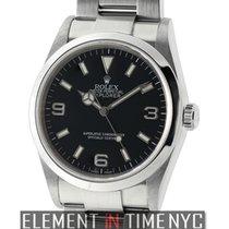 Rolex Explorer I Stainless Steel 36mm Black Dial Z Serial...