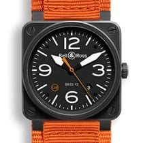 Bell & Ross Aviation BR03 Carbon Orange