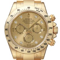 Rolex Cosmograph Daytona / Champagner & Diamonds