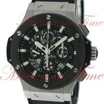 Hublot Big Bang Aero Bang, Skeleton Dial, Black Ceramic Bezel...