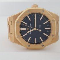 Audemars Piguet Royal Oak Automatic Blue Dial 18kt Pink Gold...