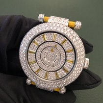 Franck Muller Ronde Double Mystery White Gold and Diamonds