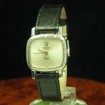 Rolex Cellini 18kt 750 Weißgold Gold Handaufzug Damenuhr Ref...