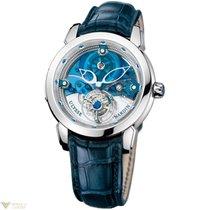Ulysse Nardin Royal Blue Tourbillon Platinum Men's Watch