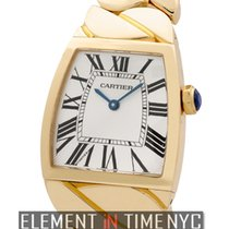 Cartier La Dona Collection 18k Yellow Gold Silver Dial 28mm...