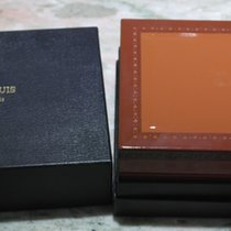 Roger Dubuis vintage big watch box light leather newoldstock
