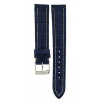 Breitling Blue Crocodile Leather Strap 533p 18mm/16mm