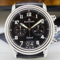 Blancpain 2885F-1130-53B Flyback Chronograph Big Date SS Black...