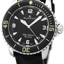 """Blancpain """"Fifty Fathoms"""" Diver Strapwatch."""