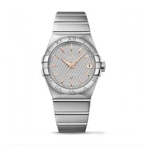 Omega Constellation  Stainless Steel Mens watch 123.10.38.21.0...