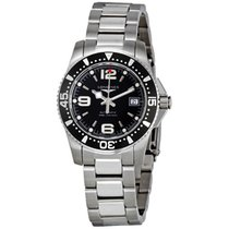 Longines HydroConquest Black Dial Automatic Stainless Steel...