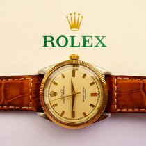 Rolex Oyster Perpetual Kal.1000 Stahl/Gold 18K 750 Chronometer
