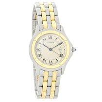 Cartier Panthere Cougar Series Ladies 18K Swiss Quartz Watch...