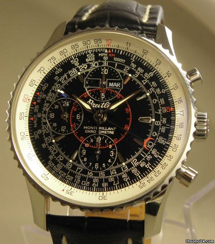 Breitling Montbrillant Datora Chrono Stahl B&amp;amp;P