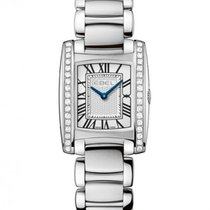 Ebel Brasilia Steel Case with Diamonds, Blue Hands