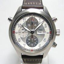 IWC Spitfire Double Chronograph Ratrappante IW 3718-06 acier...