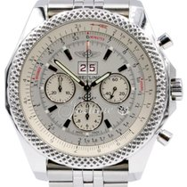 Breitling Bentley 6.75 A44364 Men's 48mm White Index...