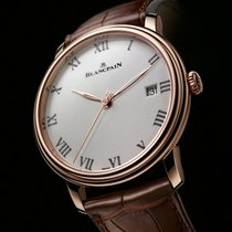 Blancpain [NEW] Villeret Ultra Slim Automatic 40mm Mens...