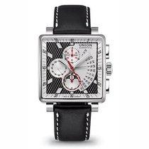 Union Glashütte Averin Chronograph bicolor schwarz weiß