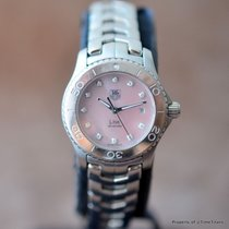 TAG Heuer LADIES LINK WJ131C.BA0573 MOTHER OF PEARL PINK DIAL...