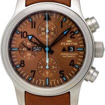 Fortis B-42 Aeromaster Blue Horizon Automatic Mens Watch Date...