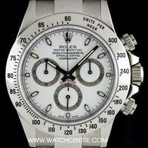勞力士 (Rolex) Stainless Steel O/P White Dial Cosmograph Daytona...