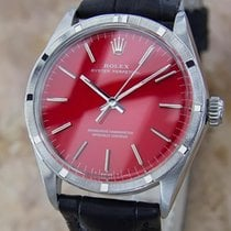 Rolex 1007 Swiss Oyster Perpetual Automatic Mens 1966 Stainles...