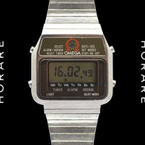 Omega Memomaster LCD Rare Quartz Watch - 1979