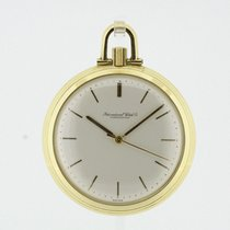 IWC solid 18K Yellow Gold Pocket Watch Ref. IW217 Cal. 89 from...