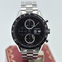 TAG Heuer Carrera Chronograph Cv2010-3      Stainless Steel  ...