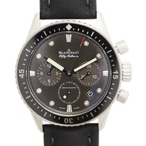 Blancpain Fifty Fathoms Stainless Steel Dark Grey Automatic...