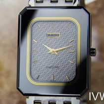 Rado Diastar Quartz Unique Stainless Steel Unisex 1980s Luxury...