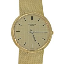 Patek Philippe Geneve 33mm 18k Solid Yellow Gold 215 Mov't...