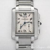 Cartier Tank Francaise Edelstahl Chronograph