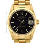 Rolex 18k yellow gold mid-size President