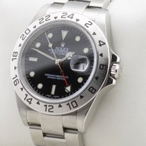 Rolex Explorer II 2 DATE GMT EDELSTAHL CHRONOMETER SEL