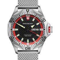Swiss Military Tank Day/date Swiss Watch Mesh Bracelet...